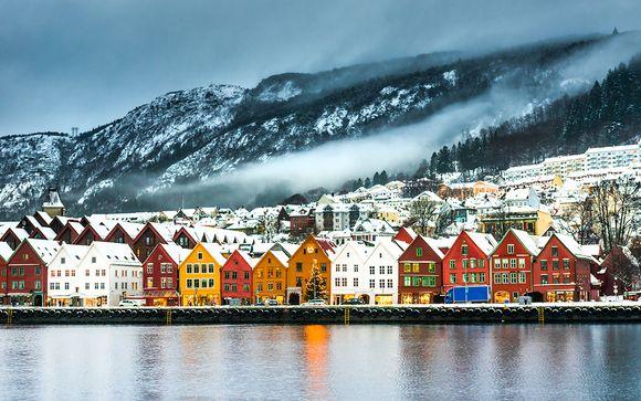 Winter by the Fjords – Bergen & Flåm 4*