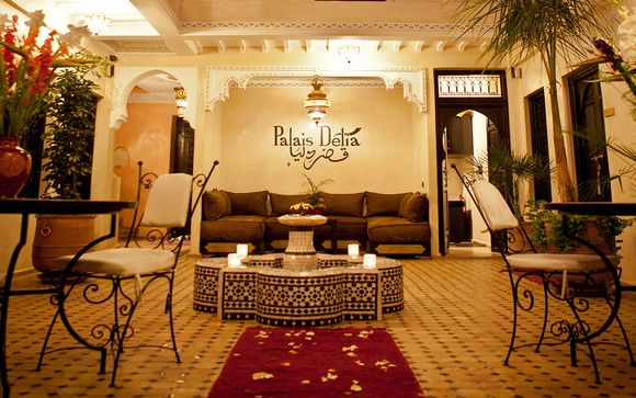 Exotic Riad Escape with Rooftop Plunge Pool