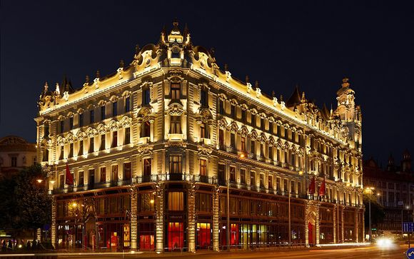 Opulent Hotel in an Historic Palace