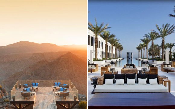Anantara Al Jabal Al Akhdar Resort & The Chedi Muscat 5*