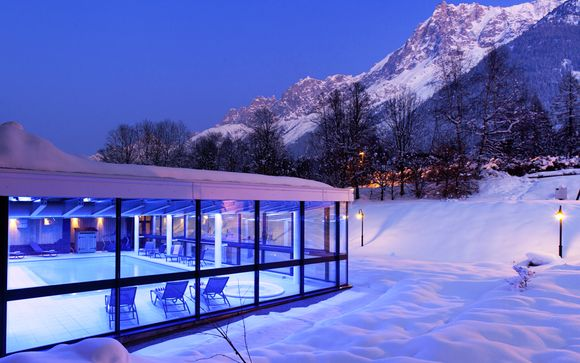 Chalet-Style Hotel Facing Mont Blanc