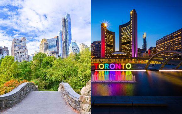 Iberostar 70 Park Avenue New York and Le Germain Hotel Maple Leaf Square Toronto 4*