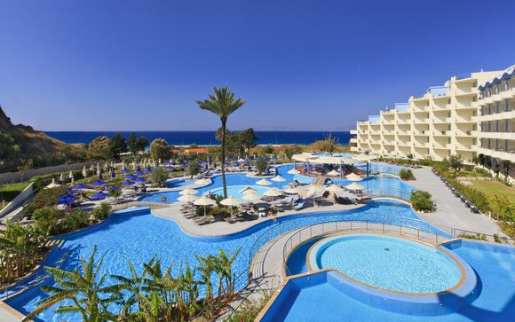 Upscale Spa Hotel with Aegean Views