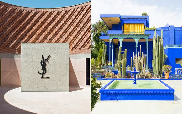 A Walk in the Footsteps of Yves Saint Laurent