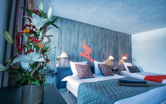 Hotel Courcheneige 3*