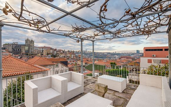 Experience Stunning Terrace Views & a Boutique Apartment Stay