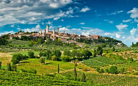 The Thousand Colours of Tuscany Fly Drive 4*