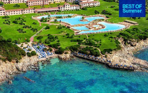 Breathtaking Resort with Largest Seawater Pool in Europe