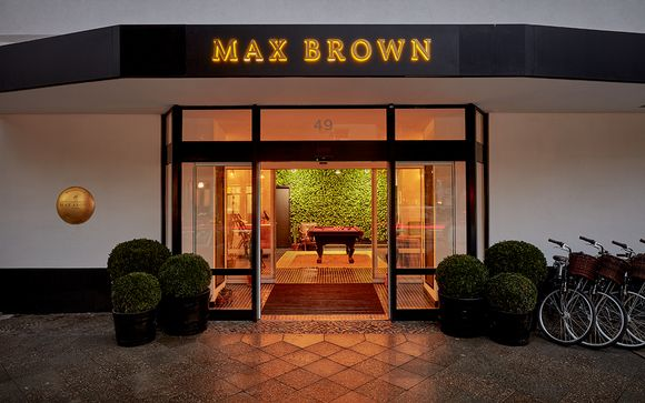 Max Brown Hotel Ku'Damm 3*