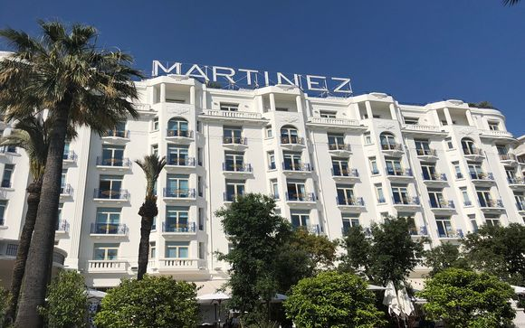Grand Hyatt Cannes Hotel Martinez 5*
