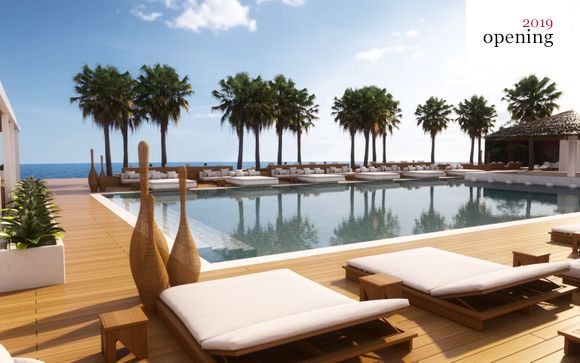 New Stylish Lifestyle Resort with Private Beach