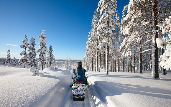 Finnish Lapland: Arctic Circle & Snow Safaris