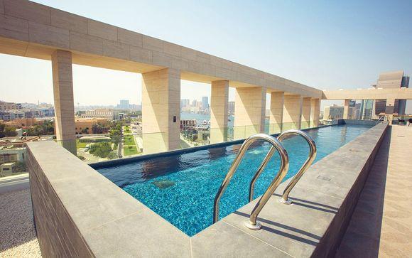 Design Hotel on Dubai Creek with Rooftop Infinity Pool