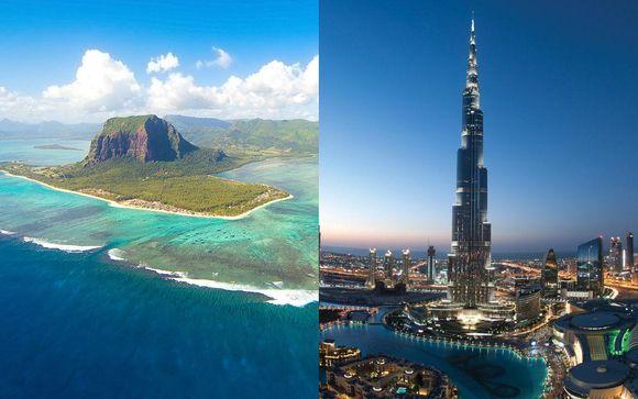 InterContinental Resort Mauritius 5* & Crowne Plaza Dubai Festival City 5*
