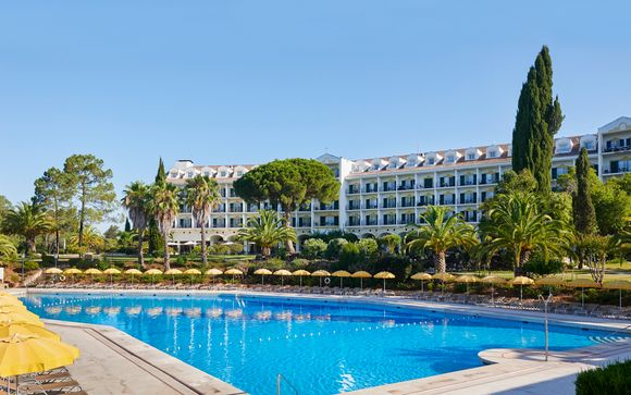 Elegant Hotel Set in 360 Acres of Lush Greenery