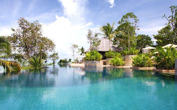Cape Sienna Phuket, Koh Yao Yai Village & The Sands Khao Lak 4/5*