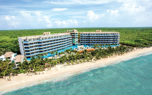 El Dorado Seaside Suites 5* with Optional Yucatan Tour