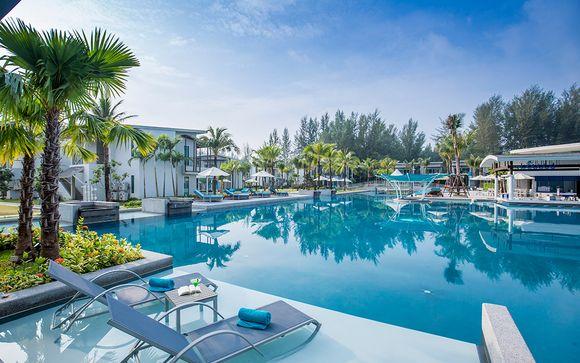 Stunning Retreat off Bang Niang Beach