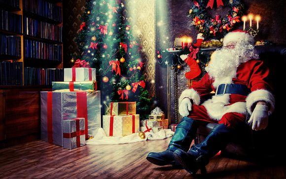 Christmas in Lapland with Santa Festive Dinner 4*