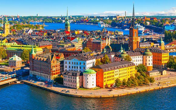 Stockholm and Helsinki