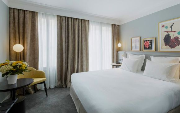 Elegant Parisian Hotel with Central Location