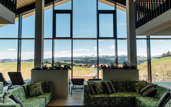 Modern Hotel Nestled Amid Alpine Scenery
