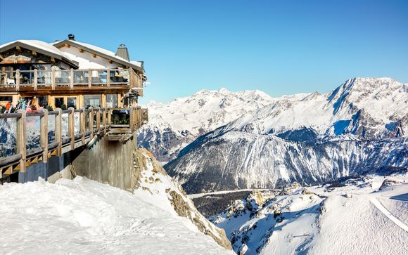 Ski Down France's Trendiest Slopes