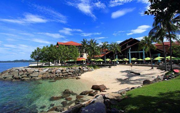 Sutera Harbour Resort, The Pacific Sutera 5*