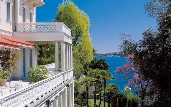 Prestigious Belle Époque Hotel on Lake Maggiore