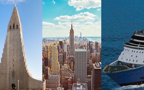 Radisson Blu Saga Iceland 4*, YOTEL New York 3* & Bermuda Cruise