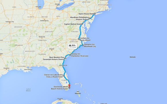 New York To Florida Drive >> New York To Florida Self Drive New York Up To 70