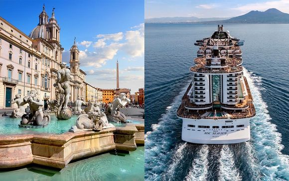 Rome Stay and Mediterranean Cruise