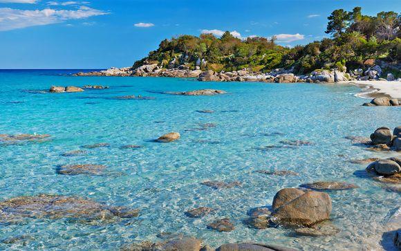 Eco-Resort 4* affacciato sul mare azzurro di Capo Bellavista