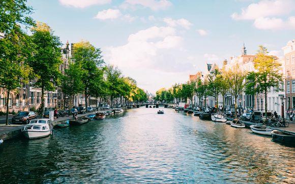 Soggiorno moderno nel cuore della città dei canali