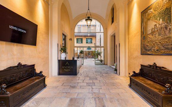Room of Andrea - Palazzo Platamone