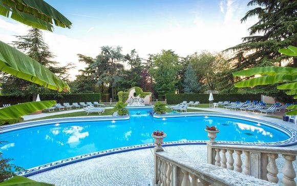 Lusso e benessere in elegante spa resort 5*