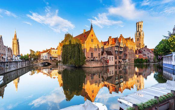 Dolci belga e intime vacanze nella città vecchia
