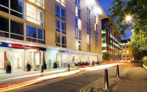 Hilton Garden Inn Bristol City Centre 4*