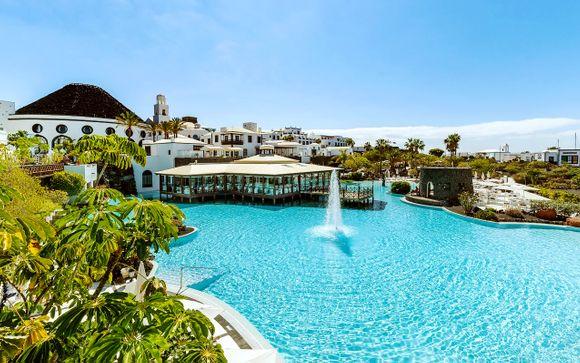 Mezza pensione in resort di lusso affacciato sul mare