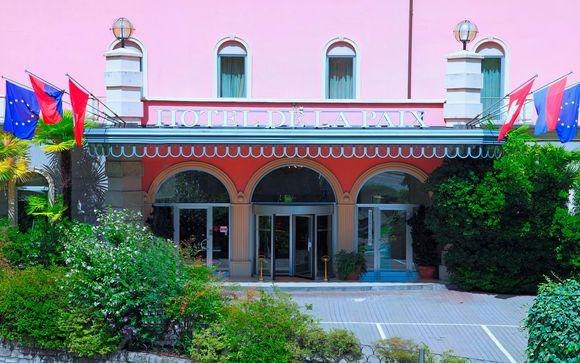 Hotel De La Paix Lugano 4*