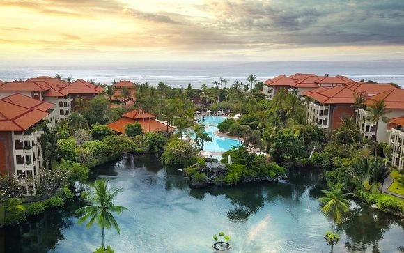 Poussez les portes de l'hôtel Hôtel Ayodya Resort Bali 5*