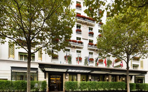 Poussez les portes de l'Hôtel Napoleon 5* by Preferred Hotels