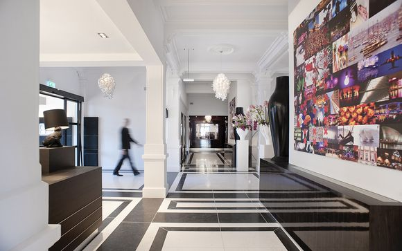 Design e atmosfere trendy in splendido 4*