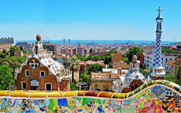 Hotel con rooftop che si affaccia su Barcellona
