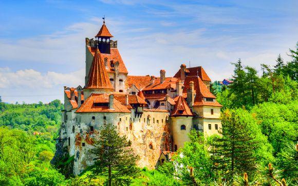 Castelli in Transilvania e panorami a Bucarest