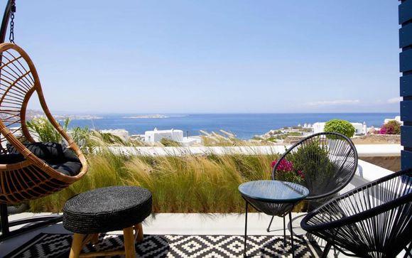 Relax vista mare nelle isole Cicladi