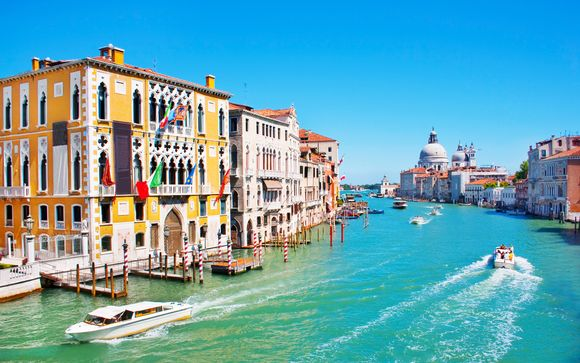 Hotel in stile veneziano affacciato su Rio Cà Dolce