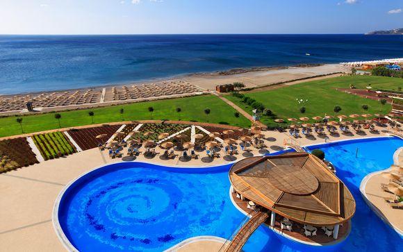 Resort di lusso con camere vista mare