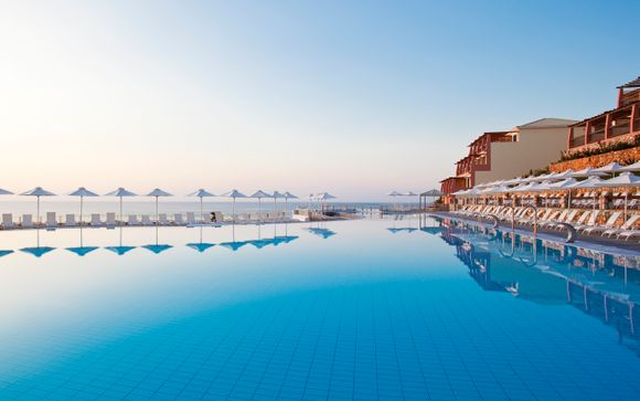 Vista mozzafiato in un affascinante resort 5* con Spa