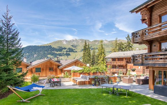 Chalet 5* e pensione completa nelle Alpi Svizzere